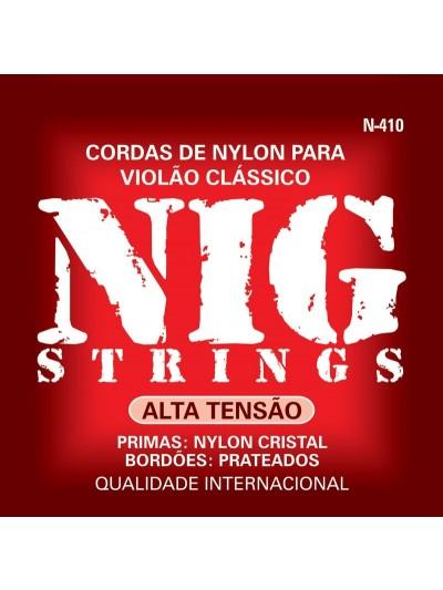 Encordoamento Nig N410 Tensão Alta Para Violão Nylon