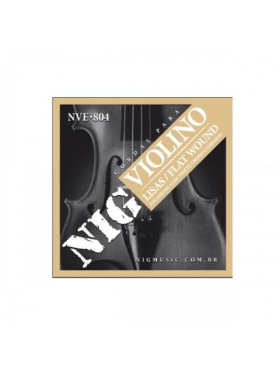 Encordoamento Para Violino Nig Nve 804