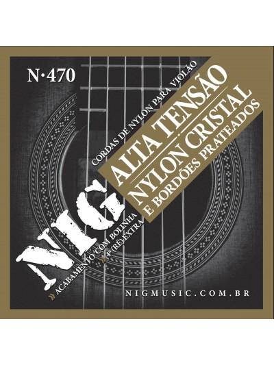 Encordoamento / Cordas Violao Nylon Nig Tensão Alta N-470