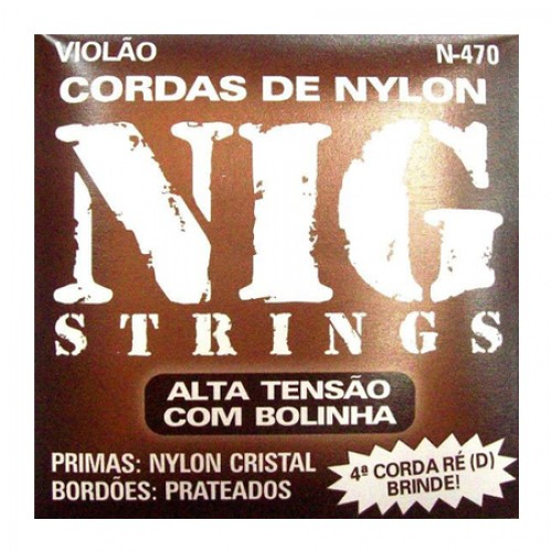 Encordoamento Violao Nylon Nig Tensão Alta N-470