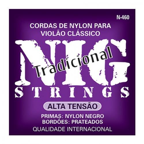 Encordoamento Para Violão Nylon Nig N-460 Tensão Alta