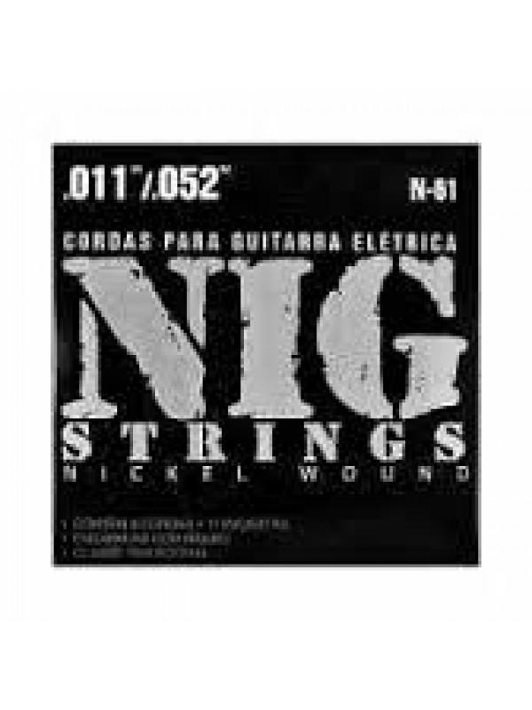Encordoamento NIG Guitarra N-61 011 Tradicional
