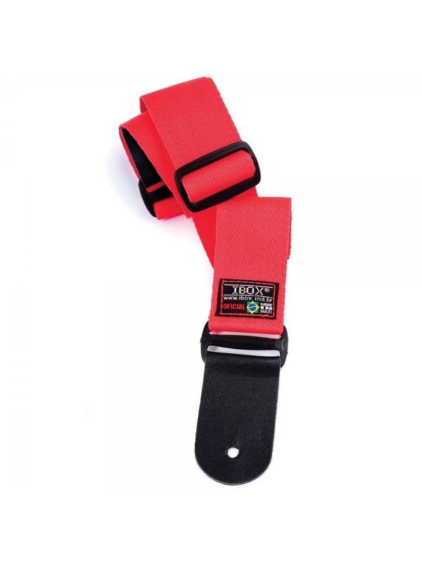 Correia Ibox Poliester  - Vermelha