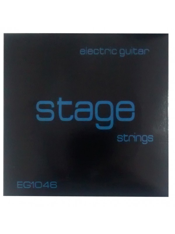 Encordoamento Para Guitarra Eg1046 Stage