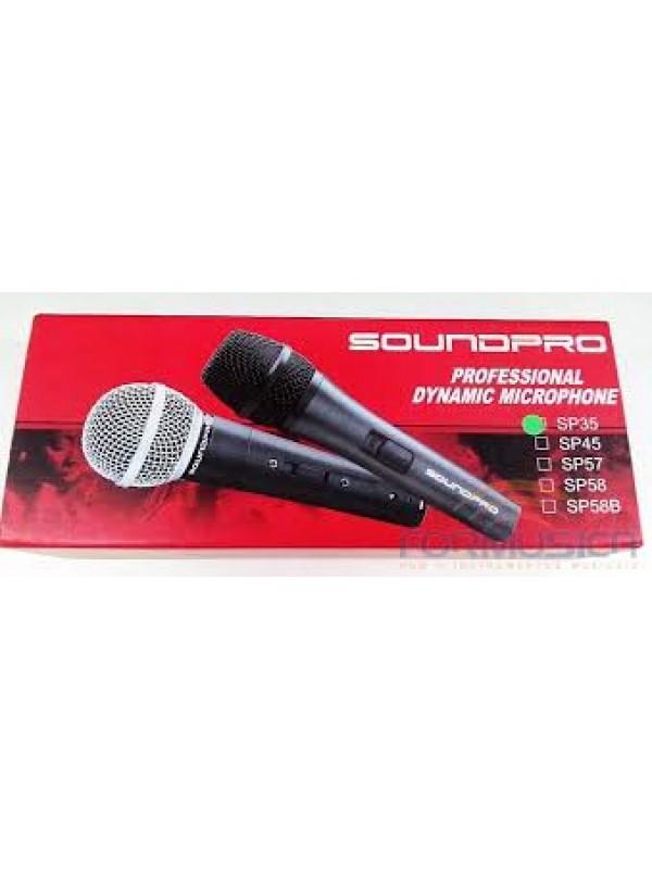 Microfone SoundPro SP 35