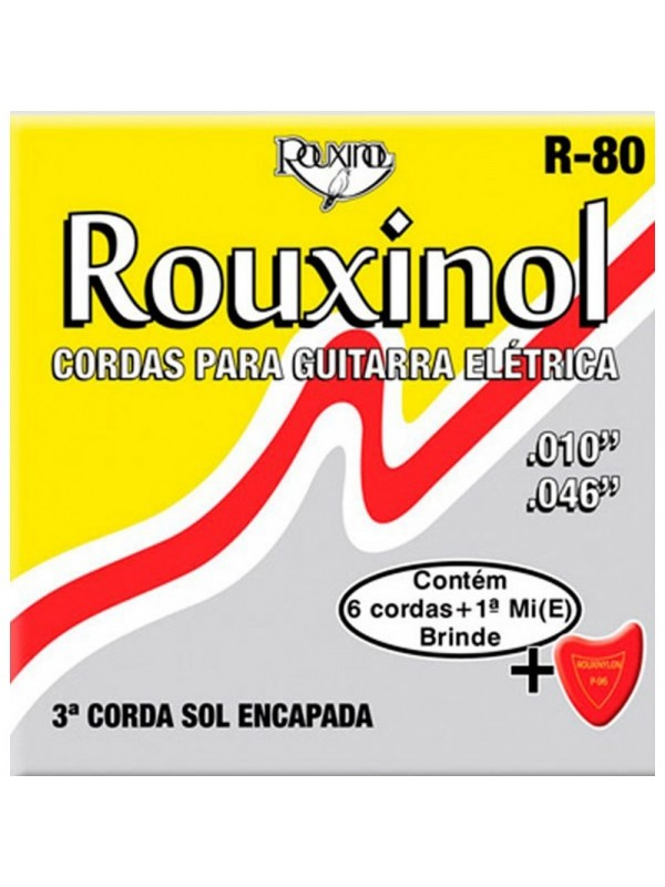 ENCORDOAMENTO GUITARRA ROUXINOL 0.10 R-80